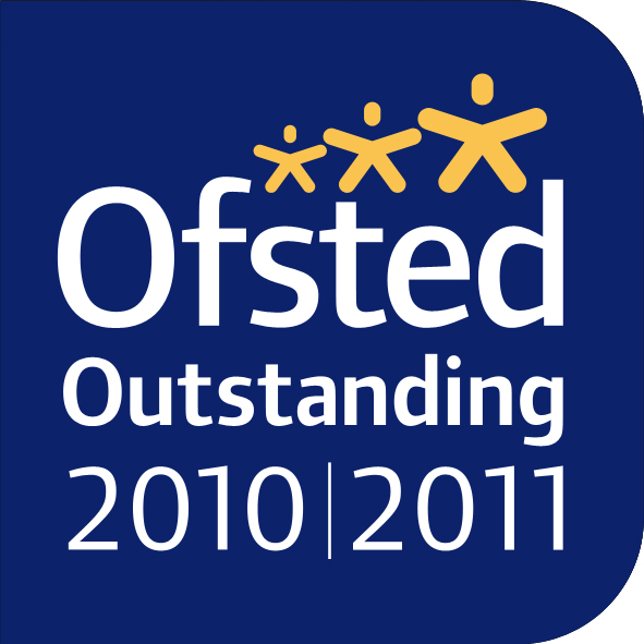 Ofsted Outstanding Logo 2010/2011