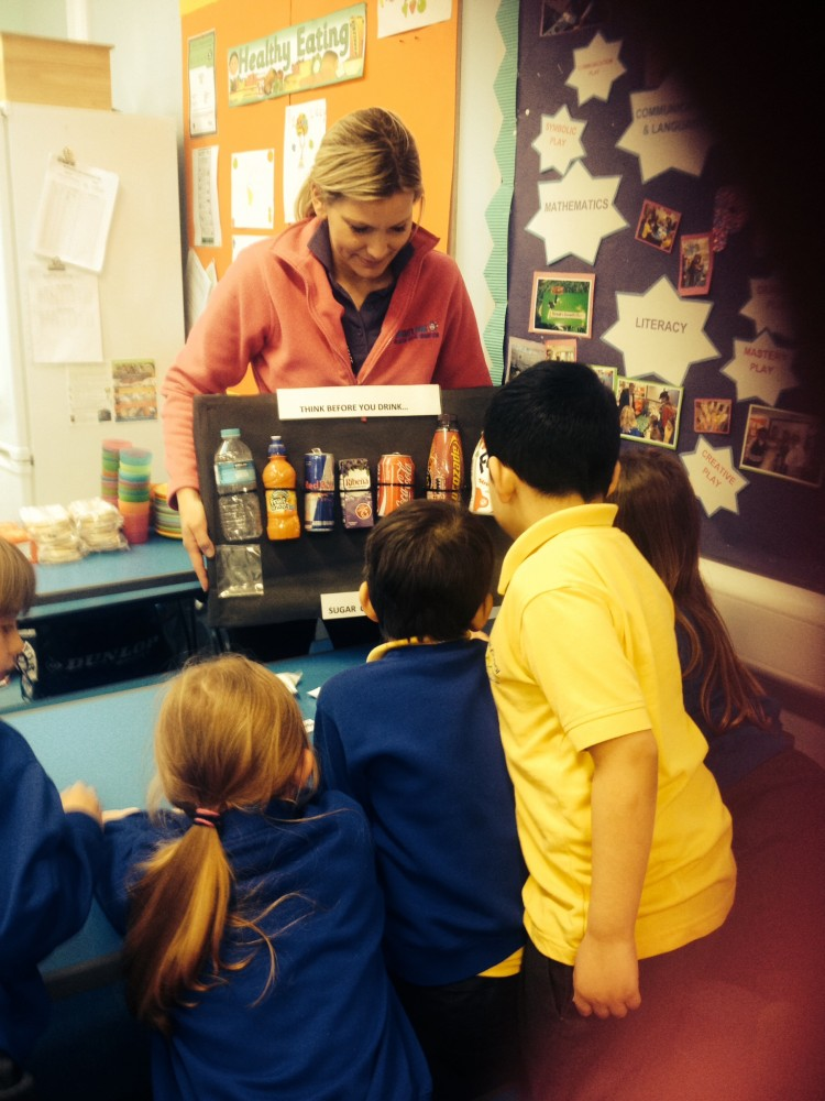 Healthy Eating at Before & After School Club