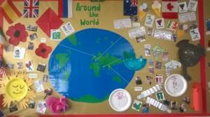 around the world at balliol