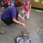 forest school fun at holiday club
