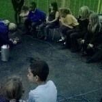 Forest school activity dawn until dusk after school