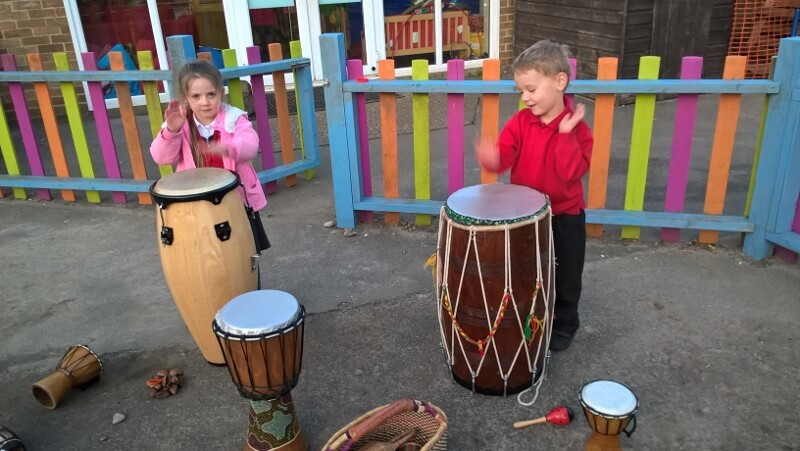 African Drums at Priory Park