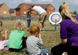 Outdoor Activities at Kids Dawn Til Dusk Holiday Club