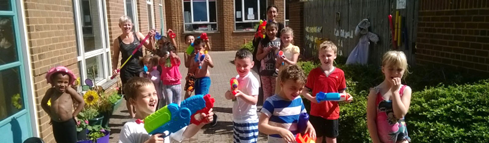 Water Fun at Kids Dawn Til Dusk Before and After School Club
